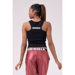 SPORTS NEBBIA LABELS CROP TOP