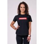 NEBBIA Women's T-Shirt - Black